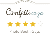 Photo Booth Guys #1 Supplier of Confetti.co.za